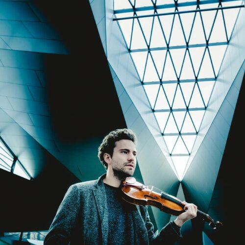 Benjamin Herzl mit Cremona Violine